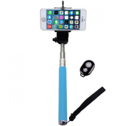 Generic Handheld Extendable Camera Selfie Stick Monopod Adjustable Phone Holder with Bluetooth Wireless Remote Shutter for iPhone Other Smart Phones