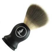 Latherwhip Shaving Brush 100% Pure Badger Bristle with Immaculate Resin Handle - Grooming The Handsome Hero