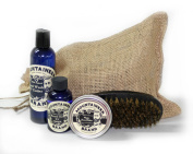 Mountaineer Brand 100% Natural Complete Beard Care Kit