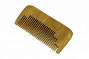 Pocket Comb, Beard Comb, Moustache Comb, Wooden Comb, Green Sandalwood Hair Comb