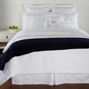 Ralph Lauren Classic Hemstitch White Pillow Sham - King Size
