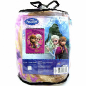 Frozen Sisters Bond Twin Size Blanket Plush Raschel