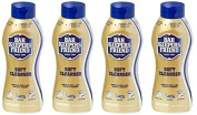 Bar Keepers Friend Soft Cleanser for Stainless Steel / Porcelain / Ceramic / Tile / Copper - 380ml Each - 4 Pack