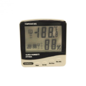 General Tools & Instruments DTH03A Digital Temperature and Humidity Monitor with Jumbo Display