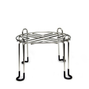 Berkey Stainless Steel Wire Stand with Rubberized Non-skid Feet for Travel Berkey and Other Small Sized Gravity Fed Water Filters