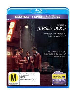 Jersey Boys BDU DVD OTL [Blu-ray]