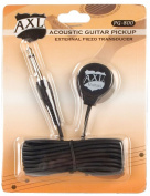 AXL Acoustic Guitar Transducer Pickup with 1/4 Jack and 2.7m Cable
