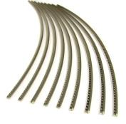 Guitar Fret Wire - Jescar WIDE-MEDIUM (47104) Nickel-Silver - Six Feet