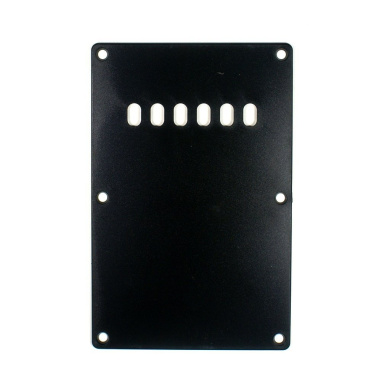 (C38) Ibanez RX Series Guitar Termolo Cavity back plate cover BLACK