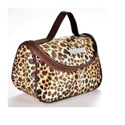 Leopard Yellow Pattern Cosmetic Make up Travel Package Case Pouch - Model 284 [version:x7.7] by DELIAWINTERFEL