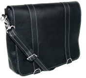 Black Real Leather Messenger Bag | Shoulder Cross Body mens and woman bag | Top quality rustic leather