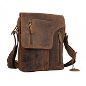 Greenburry Vintage Shoulder Bag Leather 17 cm brown