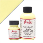 Angelus Brand Acrylic Leather Paint - Pale Yellow - 30ml