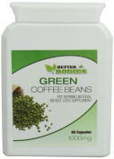 Better Bodies 1000 mg Green Coffee Bean Extract Per Capsule