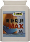 Better Bodies 6000 mg Green Coffee Bean Extract and Detox Colon Cleanse - Pack of 60 capsules