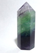 Polished Fluorite Gemstone Point approx 40-50mm Tall