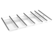 Cuisio 90th Naber Cutlery Tray, White Translucent