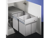 Double 2 DS Waste/Separation System/Rubbish Bin 801.0.111