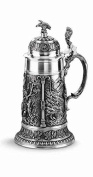 Pewter beer stein 1 litre
