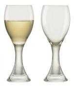 Anton Studio Manhattan Set of 2 White Wine Goblets Glasses ASD10274