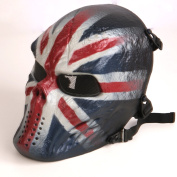 Tactical Airsoft Full Face Protection Mask Hunting Shooting UK Design