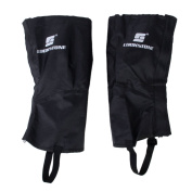 1 Pair of Waterproof Outdoor Hiking Climbing Snow Sand Legging Gaiters Leg Covers Small Size