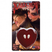 Scarecrow 'TM' Love Bite Fangs Fake Teeth Halloween for Fancy Dress