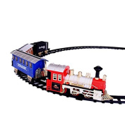 Dazzling Toys Battery Operated Classic Train and Track Set