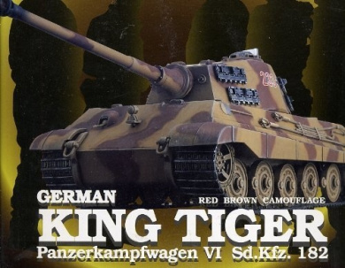 1/35 King Tiger Brown camouflage (full function RC tank) by Doyusha