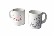 "Simon's Cat Mug with Hammer""Katze"
