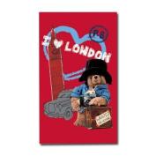 Paddington Bear I Love London Tea Towel