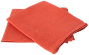 LinenMe Lara Linen Tea Towels, Set of 2, Orange