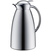 Alfi Vacuum Carafe Gusto TT, Thermal Carafe, Coffeepot, Screw Stopper, Metal Chromed, 1 Litre, 3522000100