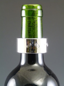 NEW Sterling Silver Wine Bottle DRIP COLLAR Boxed