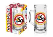 60th Birthday Beer mug/Tankard in a gift-ready box
