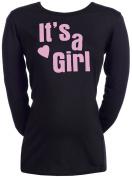 Spoilt Rotten - It's A Girl! - 100% Organic Cotton Womens Maternity T-Shirt