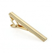 Wowlife Metal Tone Simple Necktie Tie Bar Clasp Clip Practical Decor