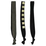 Knotties Snag Free Hair Accessories, Gold Fusion