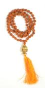Odishabazaar Rudraksha Japa Mala Yoga Prayer Meditation Buddhist 108+1 Beads