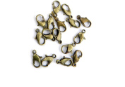 570 Pieces Jewellery Making Charms Pendant Ancient Bronze Colour Retro Findings Supplies GAVFBF9 Lobster Clasp