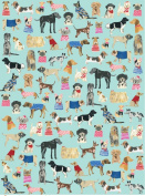 Cool Canines Rolled Gift Wrapping Paper