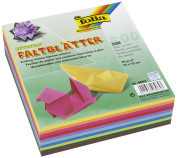 Global Art Folia 15cm Origami Paper, 10 Colours, 500-Pack