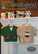 0026 - My Little Pudding & Little Robin - Christmas Knitting Pattern By Woolyknit | Fingering (4ply) Knit Pattern | Baby's Jumpers & Hat