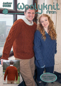 0022 - Andrew - Knitting Pattern By Woolyknit | Worsted (Aran) Knit Pattern | Mens Jumper