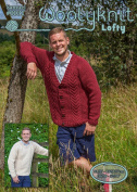 0031 - Samuel - Knitting Pattern By Woolyknit | Chunky Knit Pattern | Mens Cardigan and jumper
