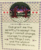 """Designs for the Needle """"My Prayer"""" Counted Cross Stitch Kit 5215"""