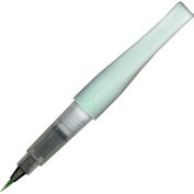 Kuretake Zig Glitter Fude Brush Pen, Wink of Stella Brush, Glitter, Green