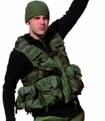 Modular System Tactical Vest Paintball Airsoft Olive