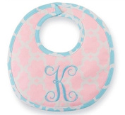 Mud Pie Baby Boutique Initial K Bib with Spoon