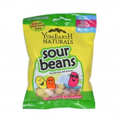 Yummy Earth Naturals Sour Beans - Case of 12 - 70ml